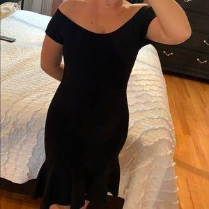 c7a9cd48ff9 Women s Black Guess Bandage Dress on Poshmark